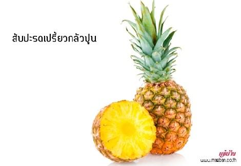 สับปะรดเปรี้ยวกลัวปูน สำนักพิมพ์แม่บ้าน
