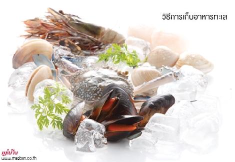 วิธีการเก็บอาหารทะเล สำนักพิมพ์แม่บ้าน