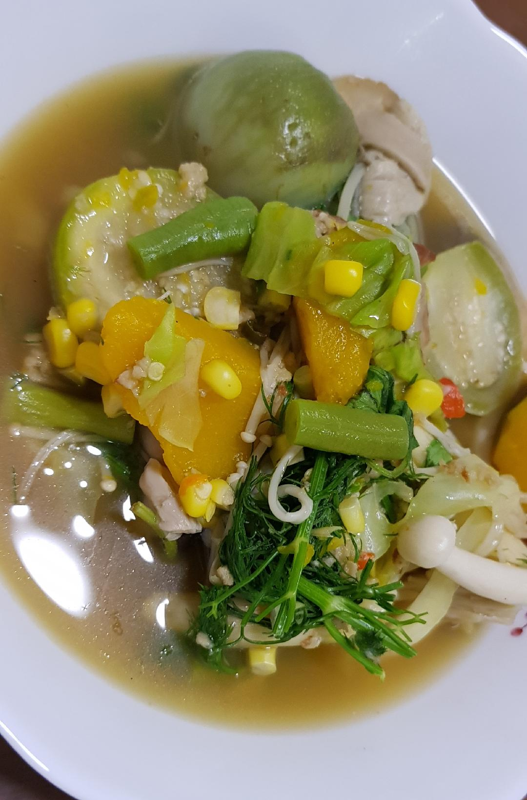 แกงอ่อมเจ อร่อยแม้ไร้ปลาร้า สูตรอาหาร วิธีทำ แม่บ้าน
