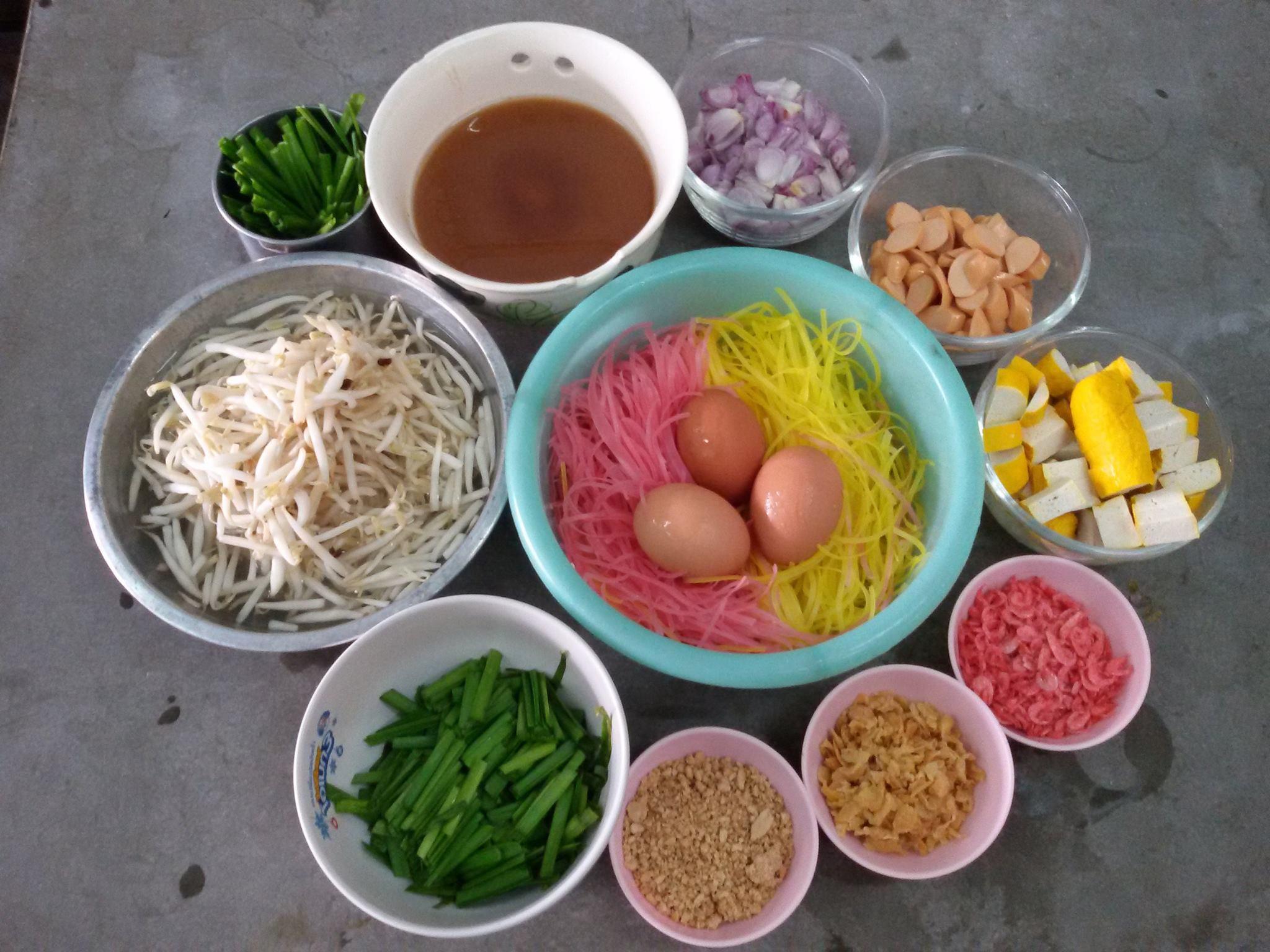 ผัดไทย สูตรอาหาร วิธีทำ แม่บ้าน