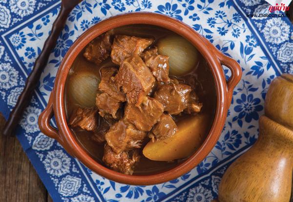 โรตีแกงกะหรี่สไตล์ญี่ปุ่นเนื้อตุ๋น สูตรอาหาร วิธีทำ แม่บ้าน