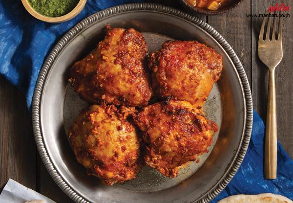 ไก่ทันดูรี สูตรอาหาร วิธีทำ แม่บ้าน