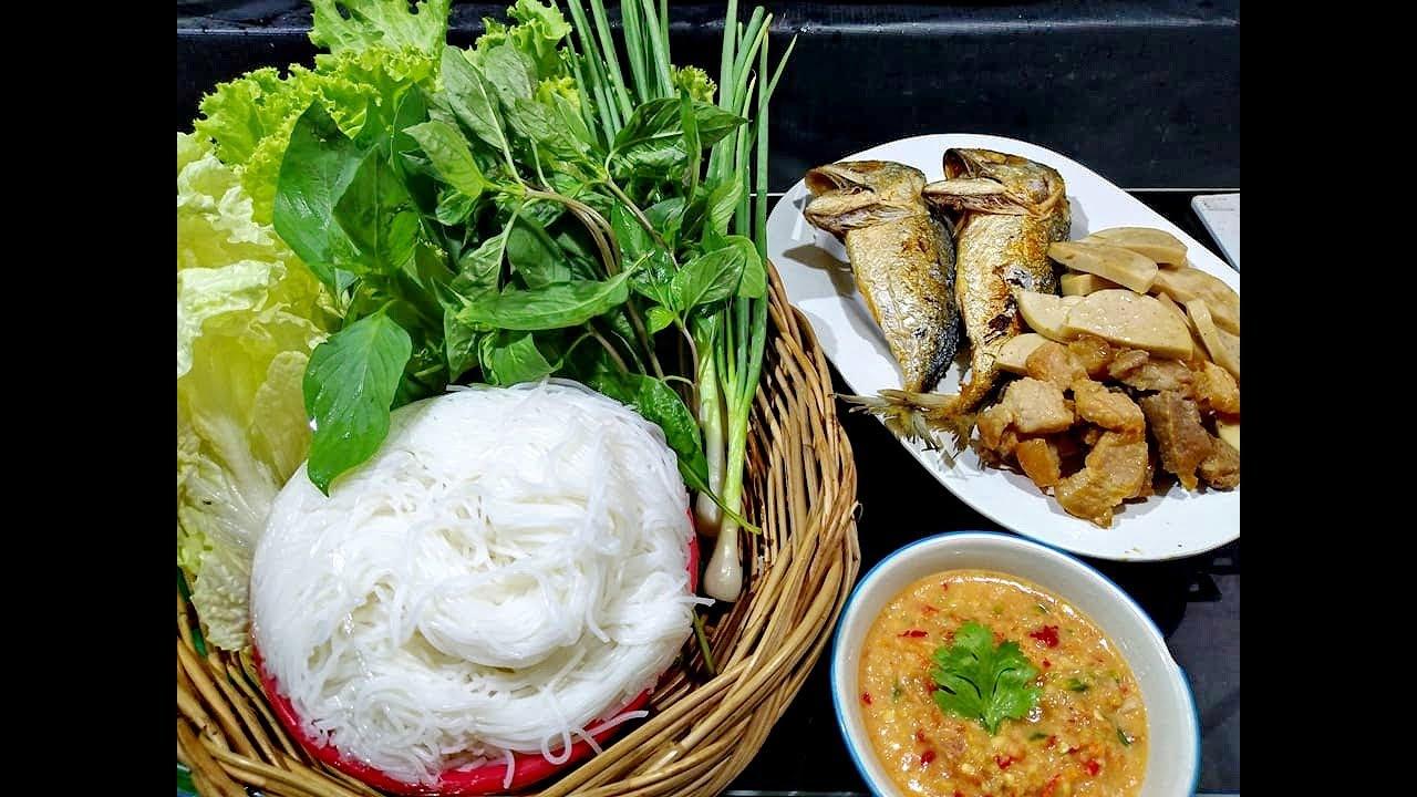 เมี่ยงปลาทู สูตรอาหาร วิธีทำ แม่บ้าน
