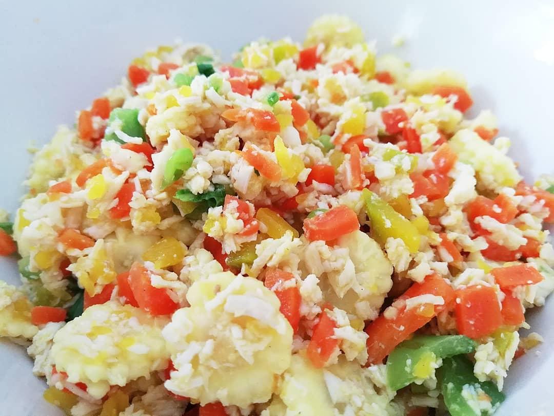ไก่ผัดผัก 5 สหาย สูตรอาหาร วิธีทำ แม่บ้าน