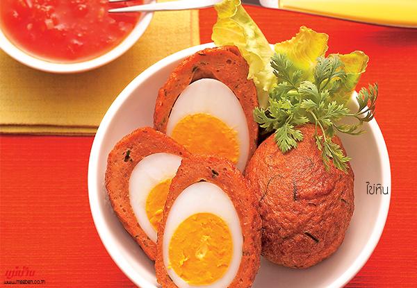 ไข่หิน สูตรอาหาร วิธีทำ แม่บ้าน