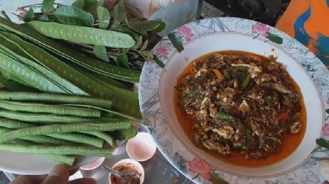 วิธีทําปลาร้าบองผัดไข่ เมนูแซบๆอร่อยๆ | ครัวแม่กุหลาบ สูตรอาหาร วิธีทำ แม่บ้าน
