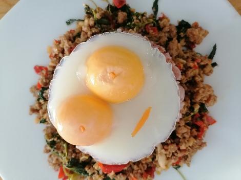 ไข่ดาวนึ่ง สูตรอาหาร วิธีทำ แม่บ้าน