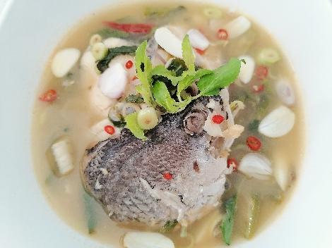แกงรัญจวนปลา เมนูสำหรับผู้ป่วย สูตรอาหาร วิธีทำ แม่บ้าน