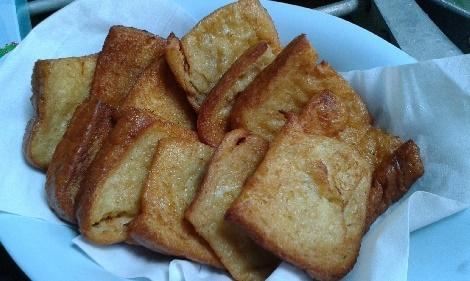 ขนมปังชุปไข่  สูตรอาหาร วิธีทำ แม่บ้าน