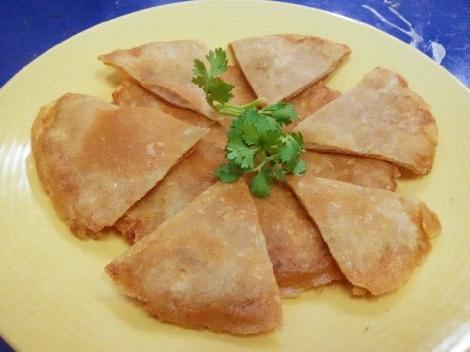 ปอเปี๊ยะพิซซ่า (ไส้ปลากรายขูด) สูตรอาหาร วิธีทำ แม่บ้าน