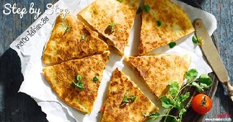 เคสดิย่าไส้ไก่และชีส สูตรอาหาร วิธีทำ แม่บ้าน