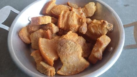 หมูกร๊อบกรอบ..สูตรโบราณ บานบุรี สูตรอาหาร วิธีทำ แม่บ้าน