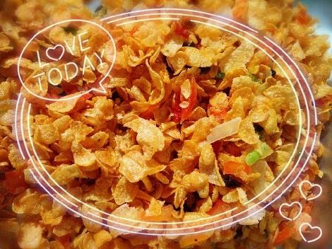 คอนเฟลกคาราเมล สูตรอาหาร วิธีทำ แม่บ้าน