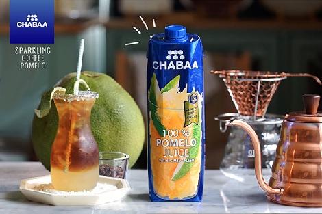 ชบา แนะนำเมนูคอฟฟี่โซดาน้ำส้มโอ สูตรอาหาร วิธีทำ แม่บ้าน
