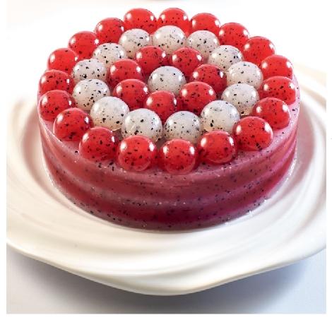 เค้กแก้วมังกร สูตรอาหาร วิธีทำ แม่บ้าน