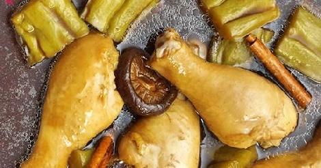 เกาเหลาน่องไก่ตุ๋นมะระ สูตรอาหาร วิธีทำ แม่บ้าน