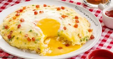 ไข่เจียวมหัศจรรย์ สูตรอาหาร วิธีทำ แม่บ้าน