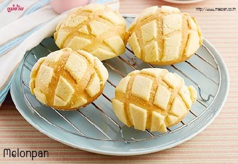 Melonpan สูตรอาหาร วิธีทำ แม่บ้าน