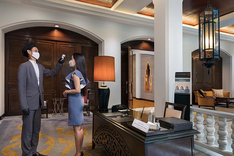 โรงแรมอนันตรา สยาม กรุงเทพ เป็นโรงแรมแห่งแรกในประเทศไทย ที่ได้รับการรับรองมาตรฐานสุขอนามัยระดับโลก Sharecare และ Forbes Travel Guide