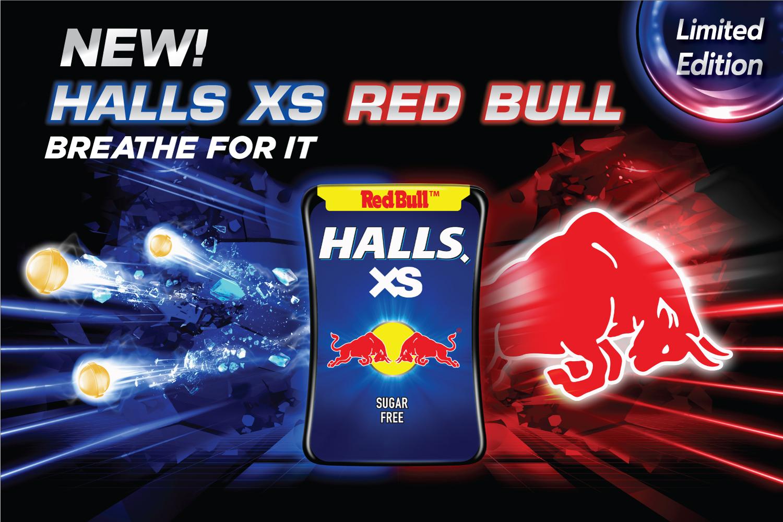มอนเดลีซเขย่าวงการลูกอมอีกครั้งเปิดตัว Halls XS Red Bull รสชาติคูลสุดขั้วครั้งใหม่!
