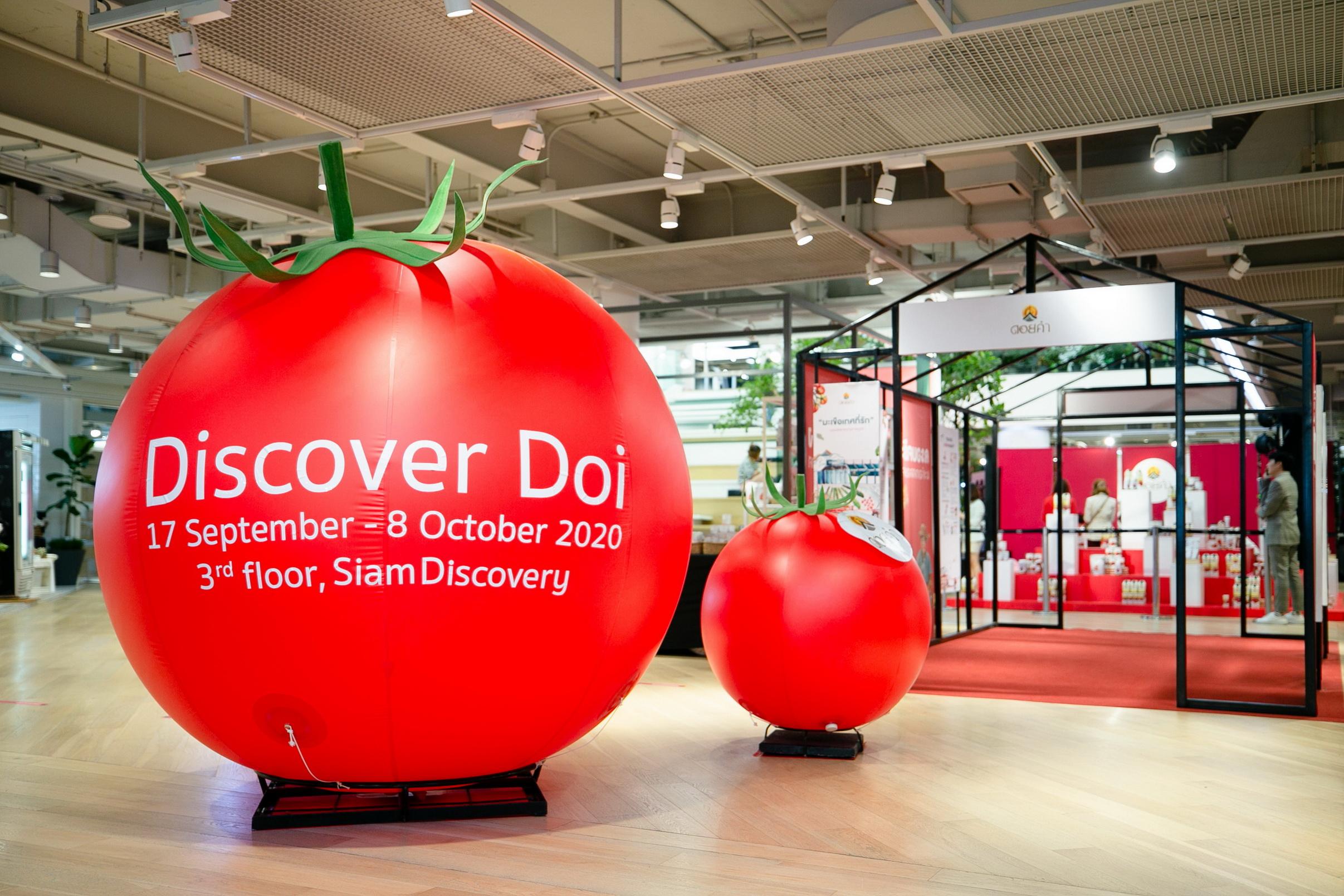 """พาเที่ยวงาน """"Discover Doi: FROM FARM TO CITY"""" กับภาพจำที่เปลี่ยนไปของ """"มะเขือเทศ ดอยคำ"""" สำนักพิมพ์แม่บ้าน"""
