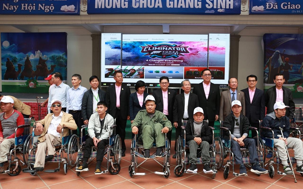 """ซี.พี. เวียดนาม จัดงาน """"คนพิการต้อนรับเทศกาล Noel 2019"""" ยกระดับคุณภาพชีวิตคนพิการให้ดีขึ้น"""
