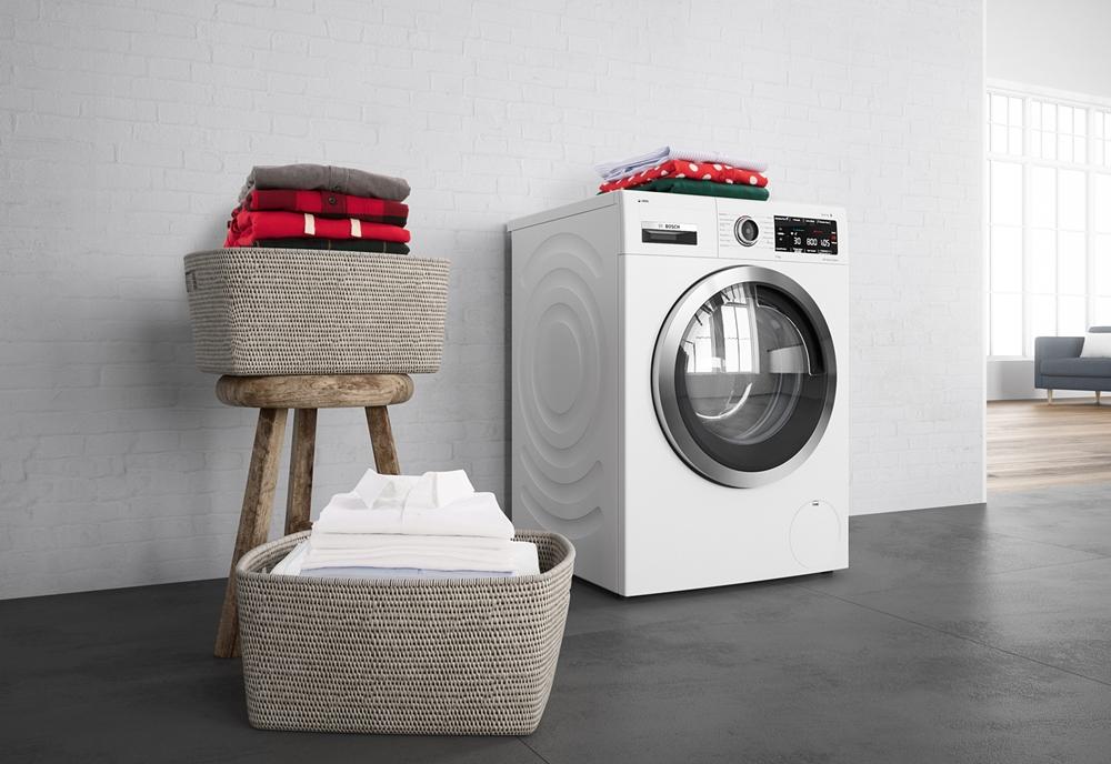 บีเอสเอช ชู เครื่องซักผ้าฝาหน้าอัจฉริยะ ระบบ i-DOS ตวงน้ำยาซักผ้าอัตโนมัติ มั่นใจถนอมผ้า และไม่มีสารตกค้างบนเนื้อผ้าไร้กังวล 100% สำนักพิมพ์แม่บ้าน