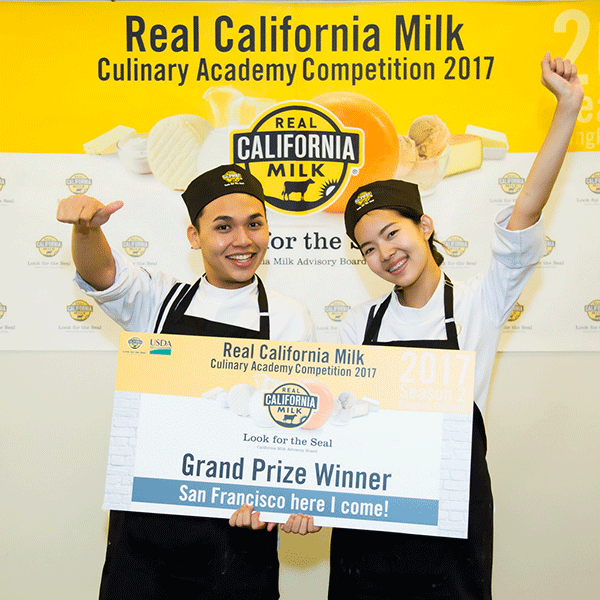 Real California Milk Culinary Academy Competition 2017 สำนักพิมพ์แม่บ้าน