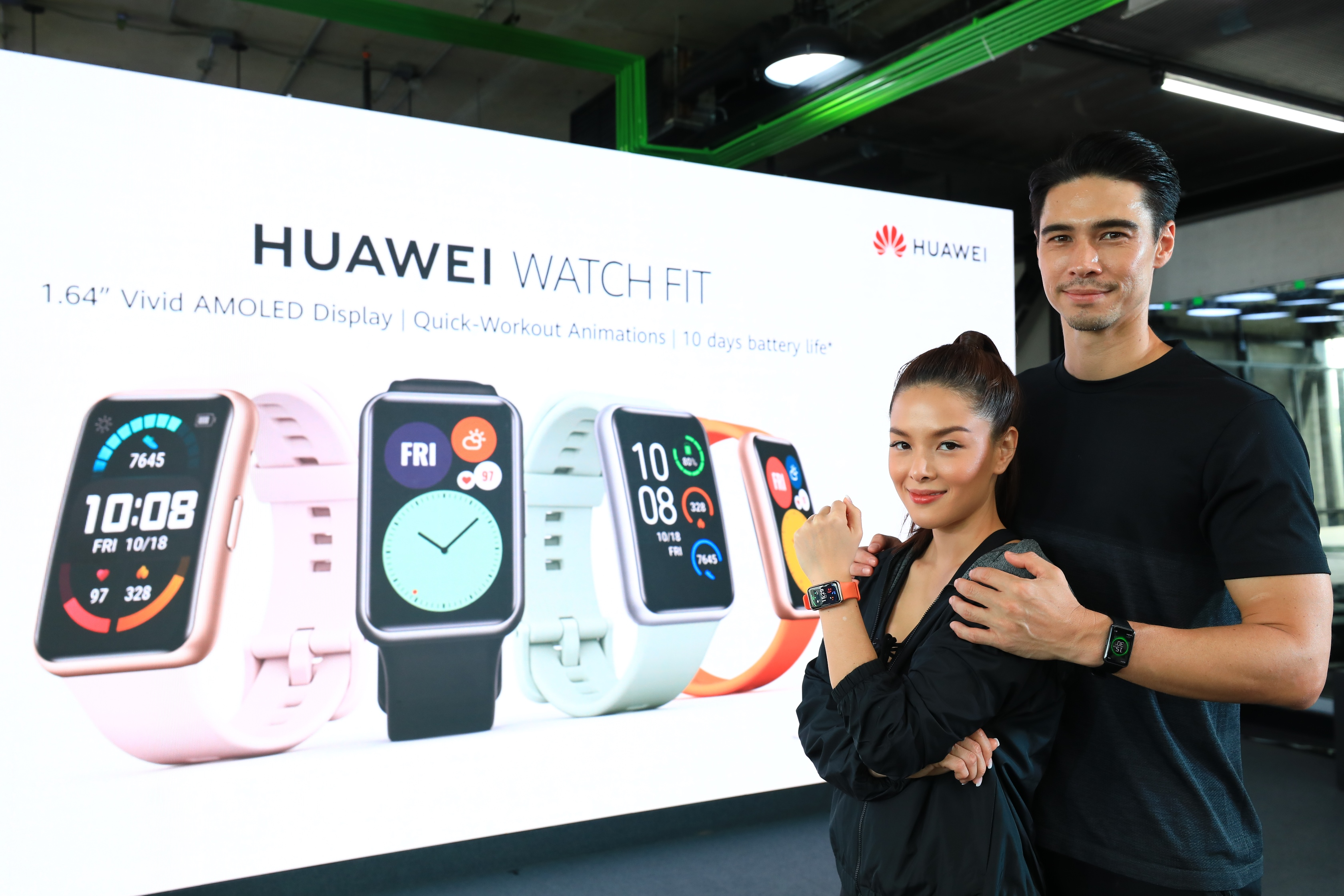 หัวเว่ยรุกตลาดสมาร์ทวอชท์ เปิดตัว HUAWEI Watch Fit แก็ดเจ็ตคู่ใจตอบโจทย์ทุกความต้องการ แม่นยำเหนือระดับ ในราคาเพียง 3,499 บาท