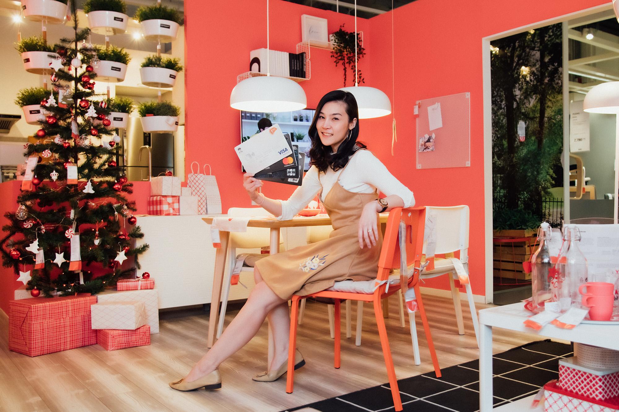 เคทีซีร่วมกับอิเกียฉลองความสุขรับเทศกาลปีใหม่ ช้อปเฟอร์นิเจอร์และของตกแต่งบ้านผ่อน 0% นานสูงสุด 6 เดือน พร้อมรับเครดิตเงินคืน