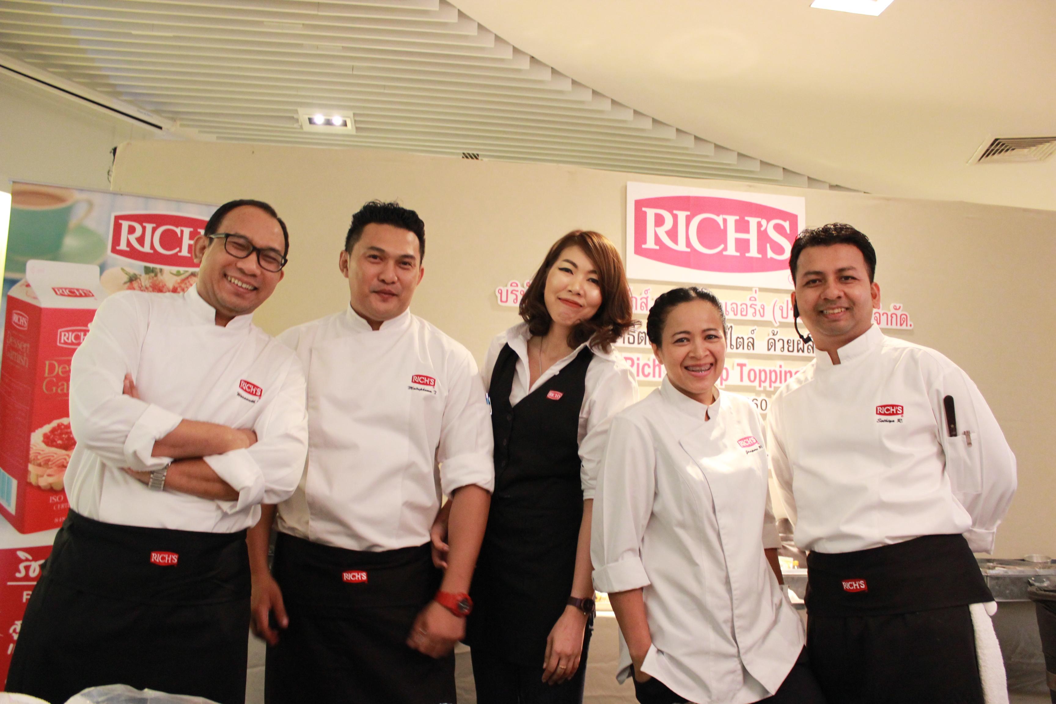 """ริชส์จัดงามสัมมนา """"สาธิตการทำขนมเบเกอรี่สูตรใหม่สไตล์ Easy & Delicious"""" สำนักพิมพ์แม่บ้าน"""