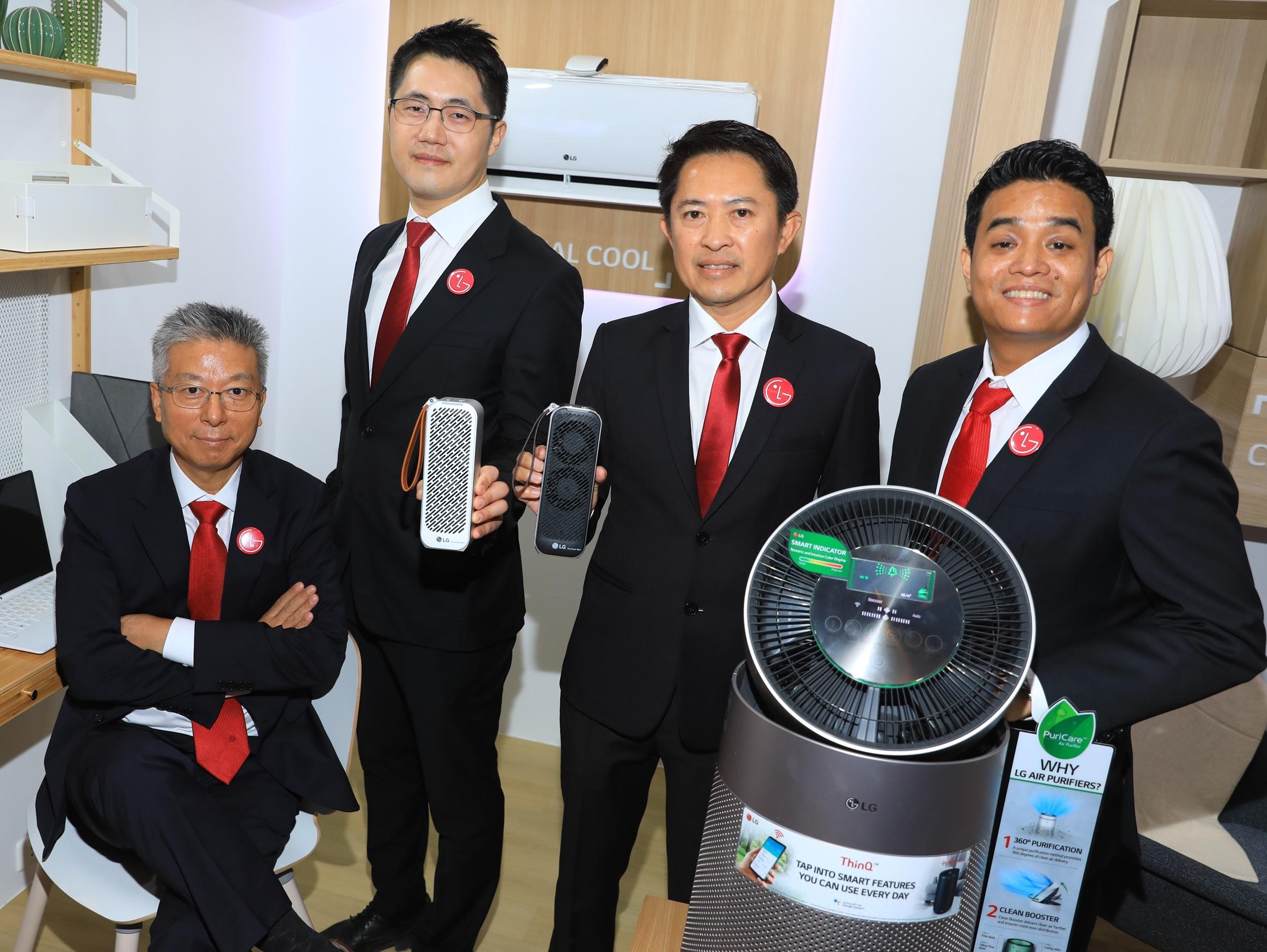 แอลจียกระดับคุณภาพชีวิตคนไทยด้วยอากาศบริสุทธิ์ ส่งนวัตกรรมระบบฟอกอากาศที่ครบวงจร เพื่อสุขภาพของสมาชิกทุกคนในครอบครัว