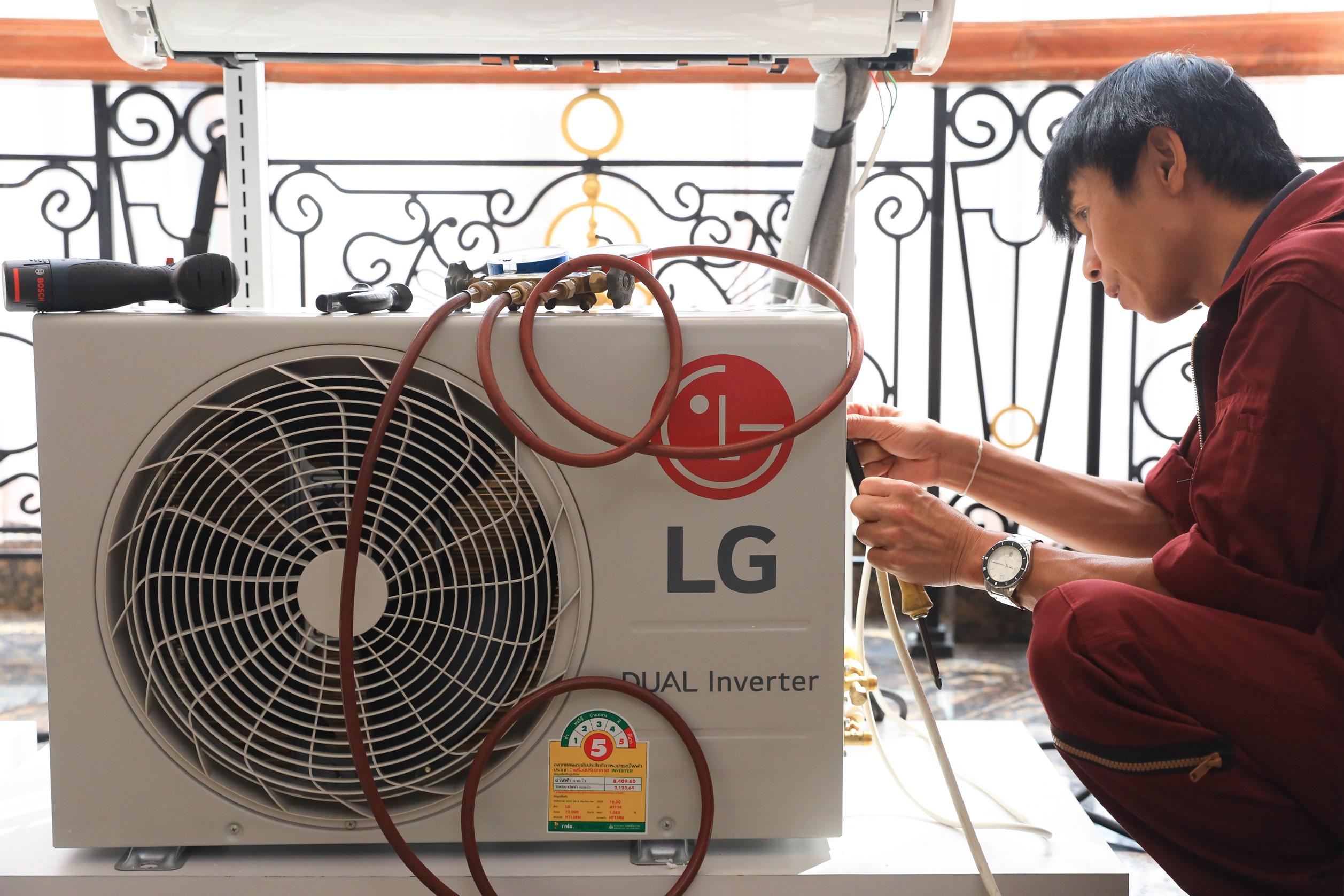 แอลจีบรรเทาทุกข์ชาวอีสาน ตรวจสอบและซ่อมเครื่องใช้ไฟฟ้าฟรีพร้อมส่วนลดค่าอะไหล่