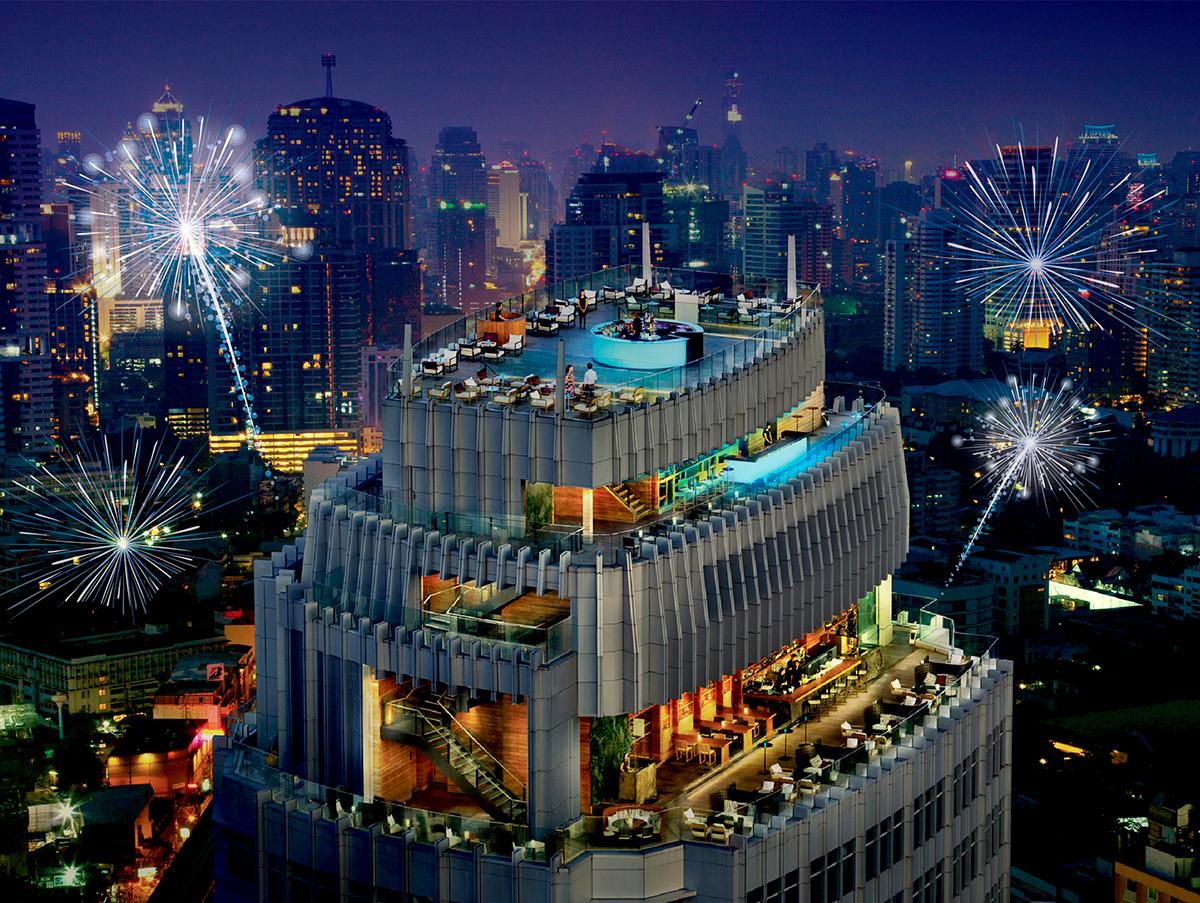 ต้อนรับเทศกาลคริสต์มาสและปีใหม่ ที่โรงแรมแมริออท กรุงเทพฯ สุขุมวิท