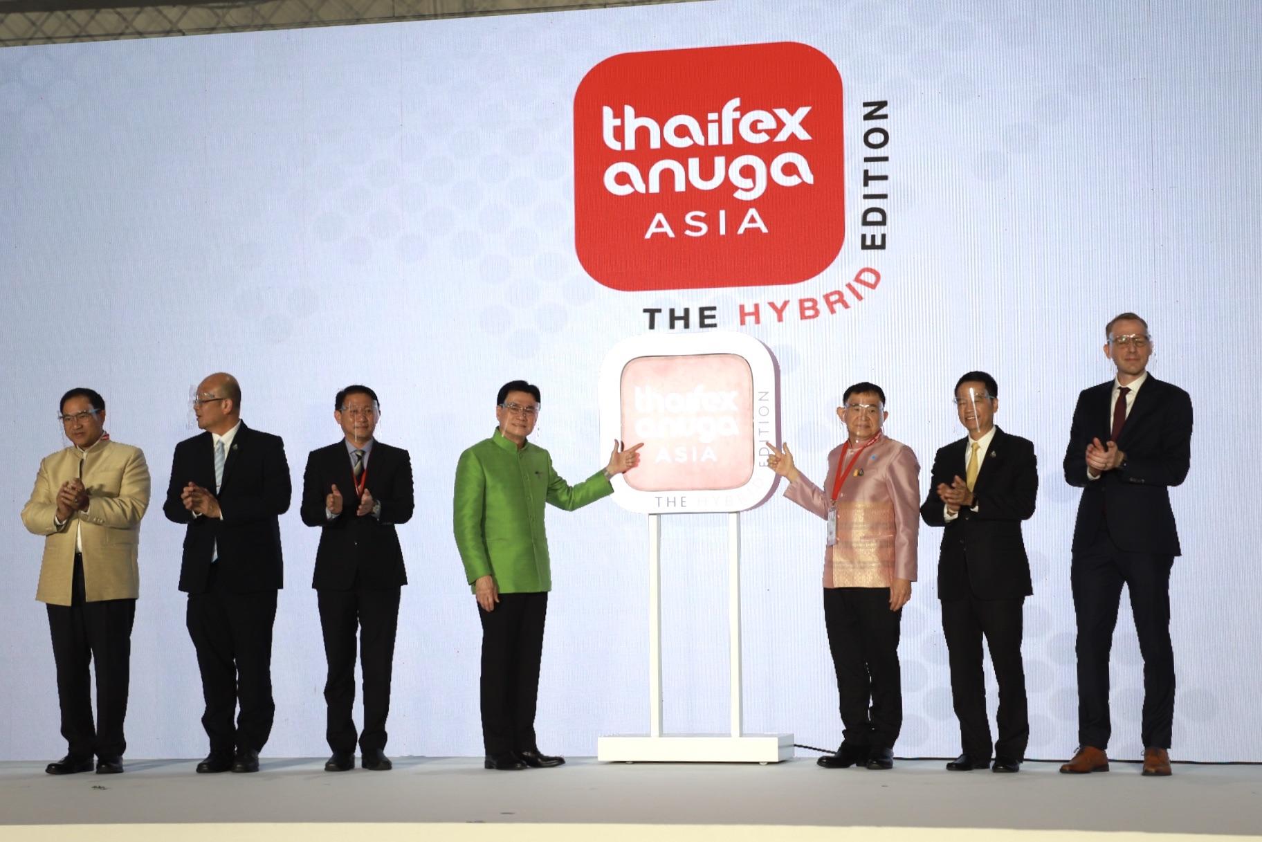 """รับมือส่งออก! จุรินทร์ นำพาณิชย์ จัด THAIFEX–ANUGA ASIA 2020 แบบ """"The Hybrid Edition"""" นำอาหารไทยสู่ตลาดโลก พร้อมจับมือ 4 กระทรวง MOU มาตรฐานความปลอดภัยอาหารจากโควิด-19 สำนักพิมพ์แม่บ้าน"""