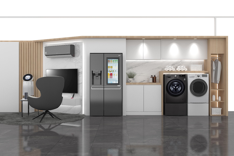 แอลจี ส่งโปรโมชั่นกลุ่มเครื่องใช้ไฟฟ้าสมาร์ทโฮม รับนิวนอร์มอล ชูนวัตกรรมเพื่อสุขภาพ ด้วยแอพพลิเคชั่น LG ThinQ™