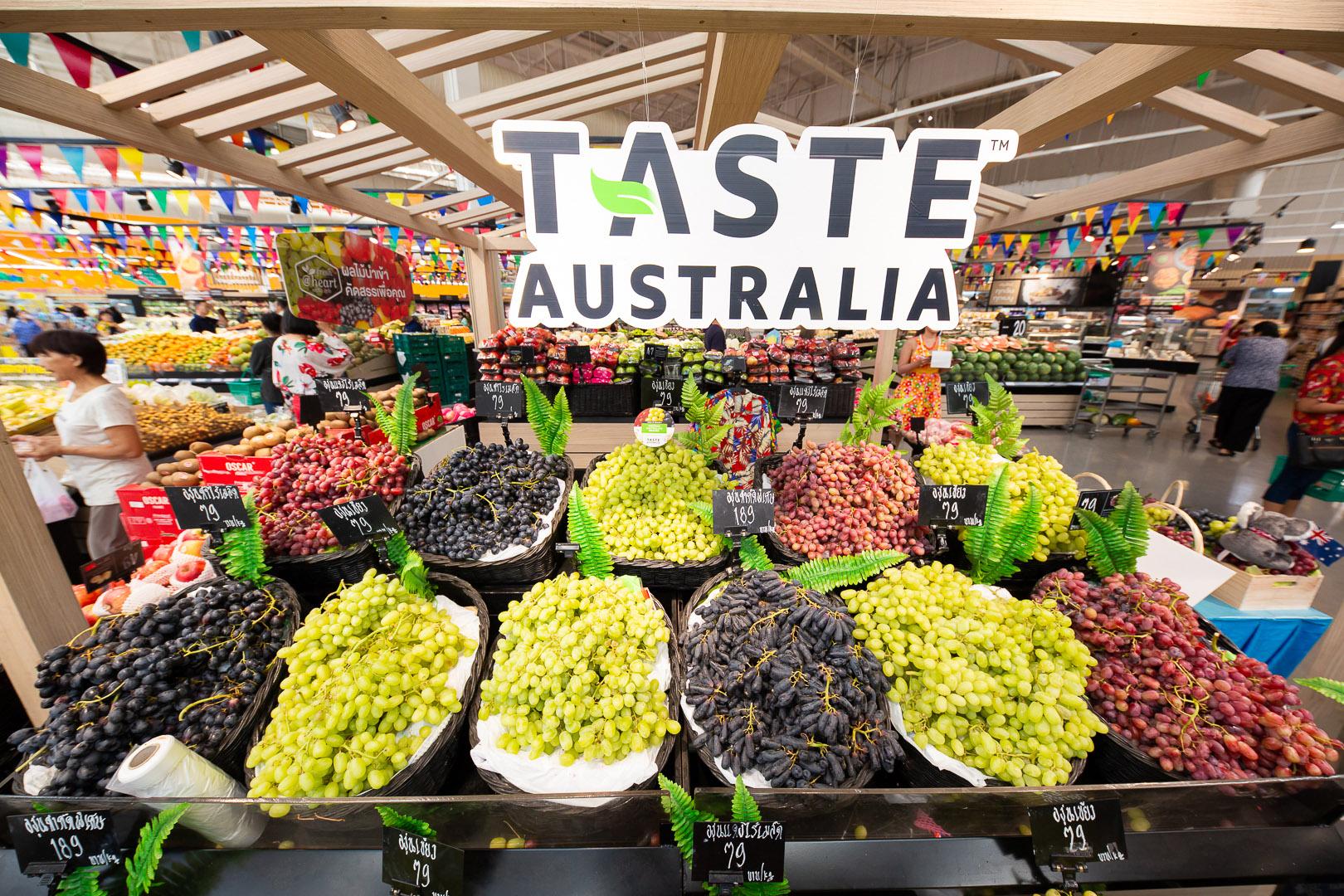 เทสโก้ โลตัส เปิดตัวเทศกาล Taste Australia ส่งตรงองุ่นไร้เมล็ดคุณภาพดีจากออสเตรเลีย เริ่มต้นกิโลกรัมละ 79 บาท สำนักพิมพ์แม่บ้าน