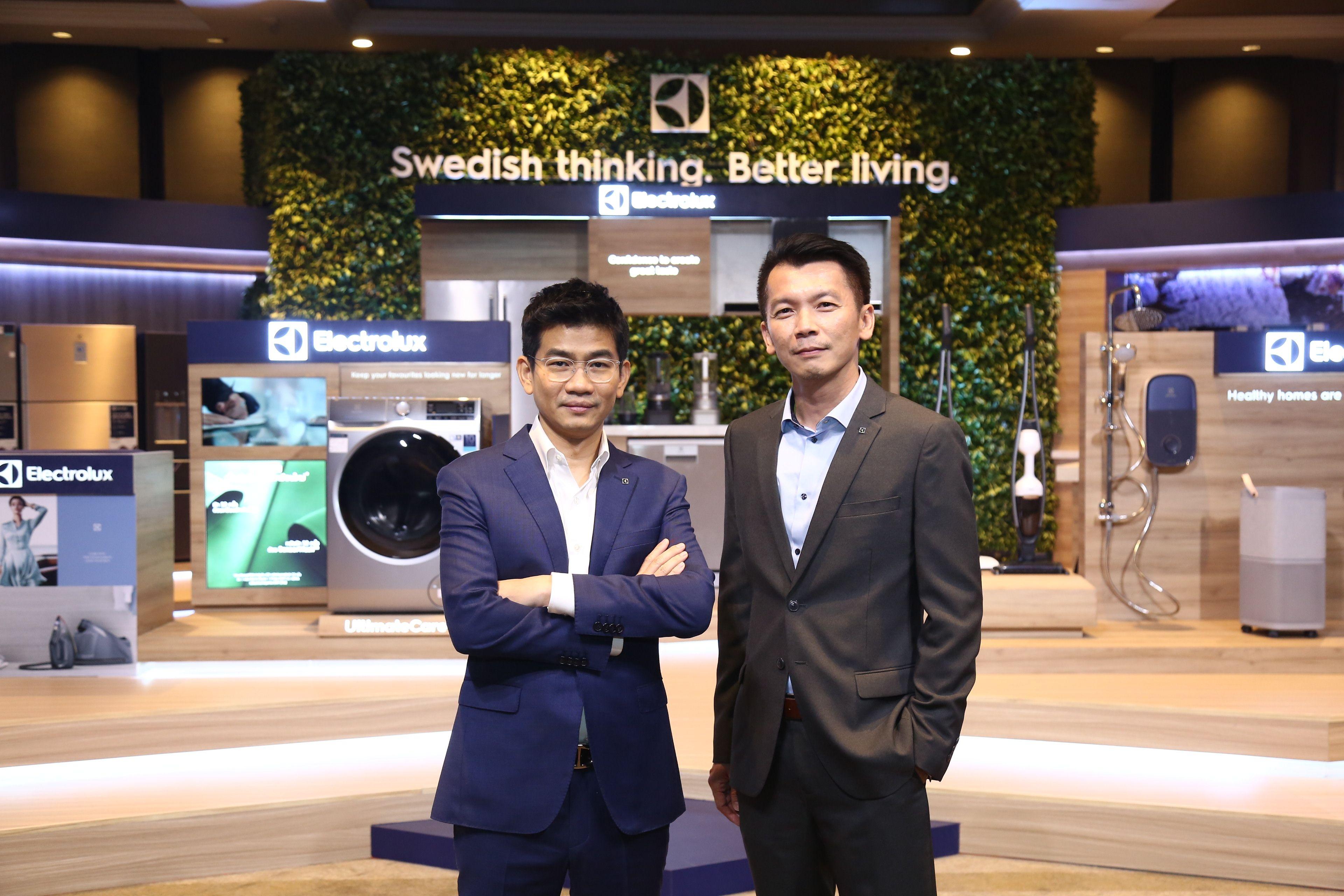 """อีเลคโทรลักซ์"""" ตอกย้ำแนวคิดสวีเดนเพื่อชีวิตที่ดีกว่า Swedish thinking. Better living. สำนักพิมพ์แม่บ้าน"""