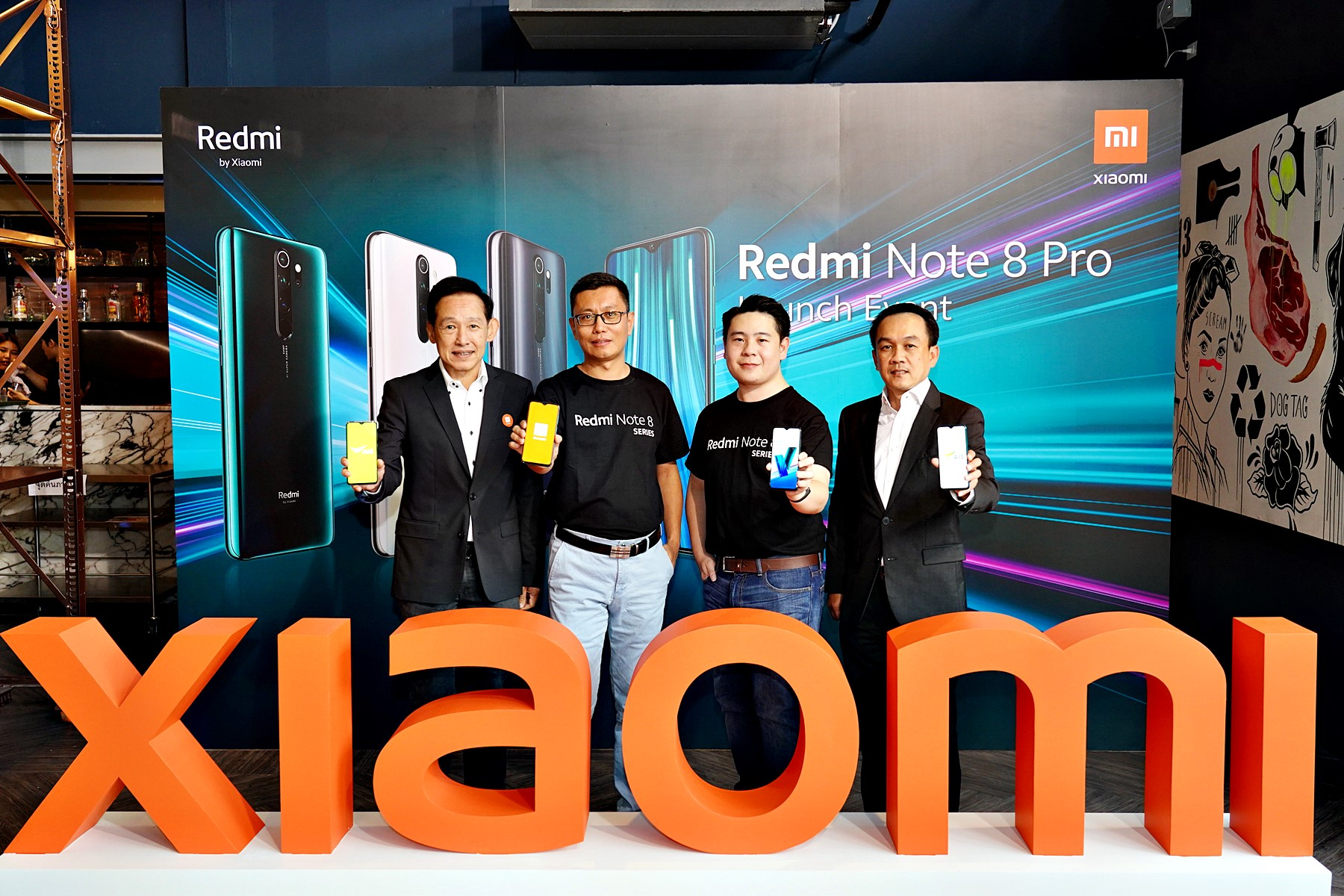เสียวหมี่ เปิดตัว Redmi Note 8 Series ยืนหนึ่งผู้นำตลาดสมาร์ทโฟนระดับกลาง