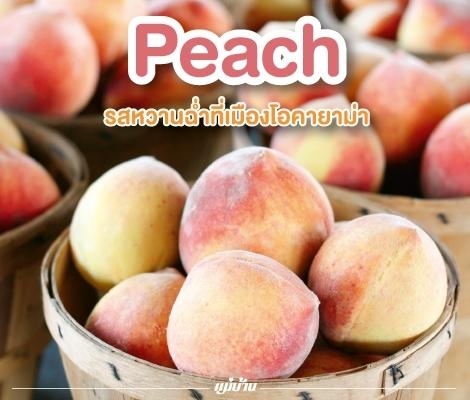 Peach รสหวานฉ่ำที่เมืองโอคายาม่า สำนักพิมพ์แม่บ้าน