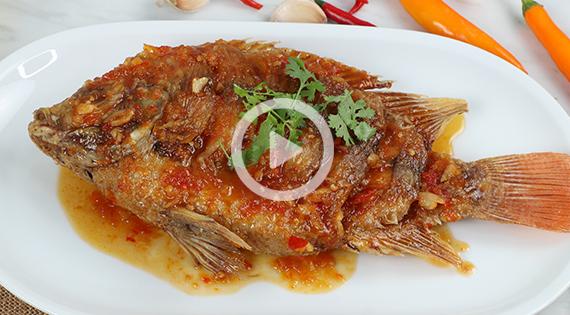 Cooking Clip : ปลาทับทิมสามรส สำนักพิมพ์แม่บ้าน