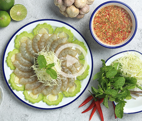 Cooking Clip : กุ้งแก้วแช่น้ำปลา สำนักพิมพ์แม่บ้าน