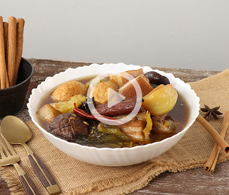 Cooking Clip : หมูพะโล้ผักกาดดอง สำนักพิมพ์แม่บ้าน