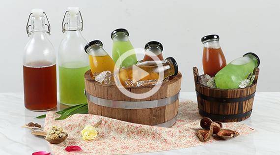 Cooking Clip : น้ำสมุนไพร (น้ำเก๊กฮวย น้ำมะตูม น้ำใบเตยผสมวุ้นมะพร้าว น้ำลำไย) สำนักพิมพ์แม่บ้าน
