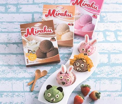 3 สูตรไอศกรีมมิราคุโฮมเมดไม่ใช้เครื่อง อร่อยเทียบร้านดัง!! สำนักพิมพ์แม่บ้าน