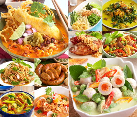10 เมนูอาหารไทยครบทุกภาค สำนักพิมพ์แม่บ้าน