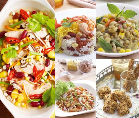 แปลงธัญพืช เป็นอาหารเพื่อสุขภาพ เลิศรส สำนักพิมพ์แม่บ้าน