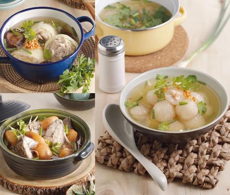 ซุปใสรสชาติไทย สำนักพิมพ์แม่บ้าน